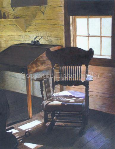 Teddy's Chair by Eileen Nistler