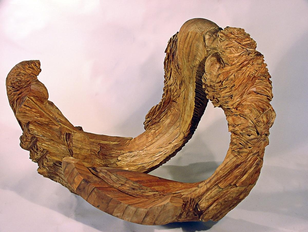 Sculpture quot out of the cradle original art by leslie