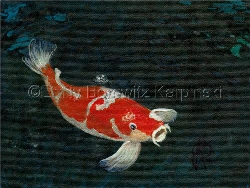 Koi by Emily Borowitz Karpinski
