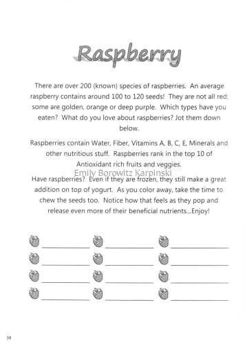Raspberry Information