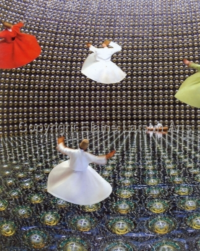 Whirling in the Neutrino Detector by Elaine Larson Arts