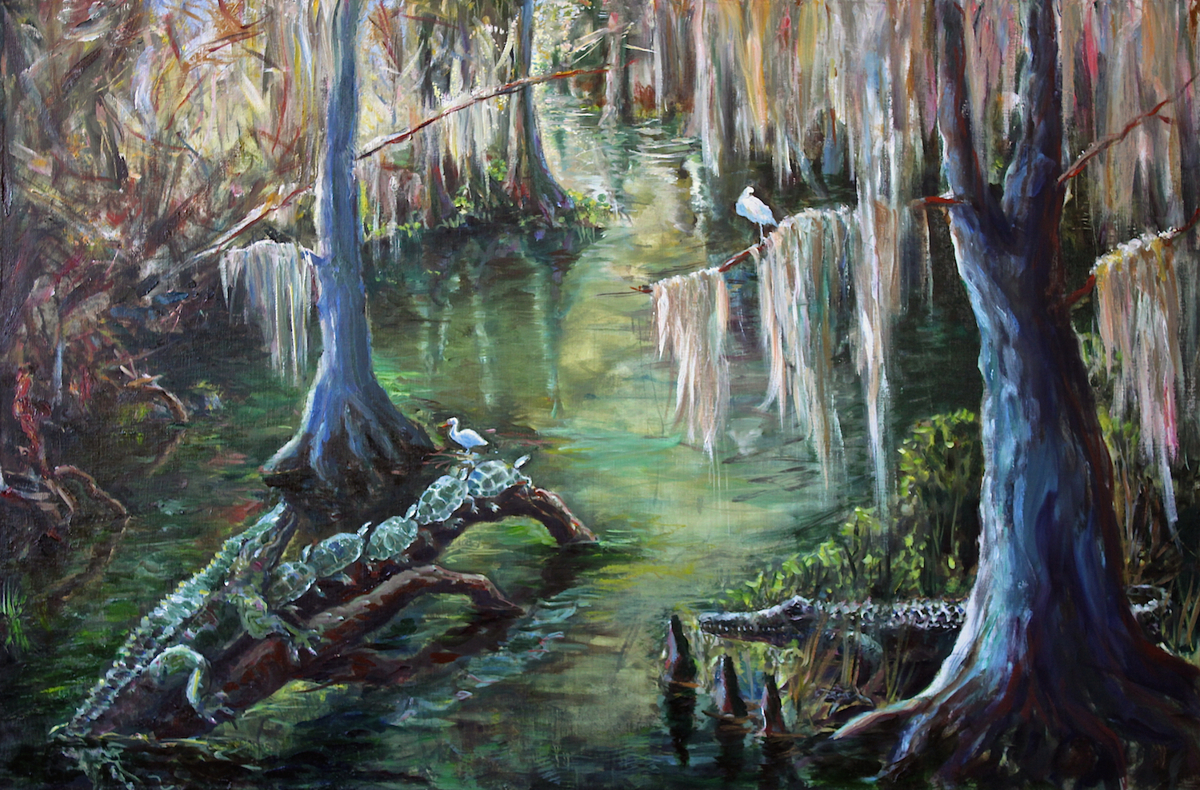 Wakulla Springs Scene (large view)