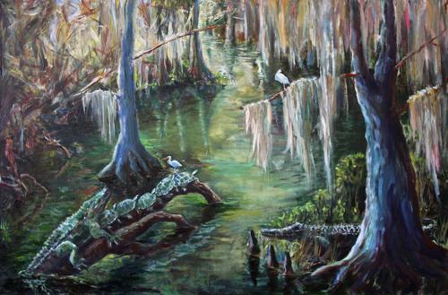 Wakulla Springs Scene