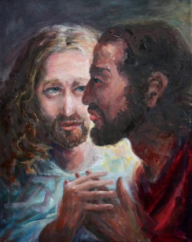 The Betrayal, Jesus and Judas