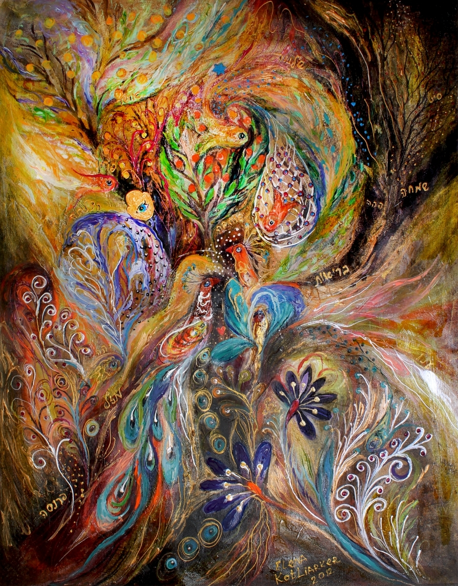 The Gold Dream painting by Elena Kotliarker (large view)