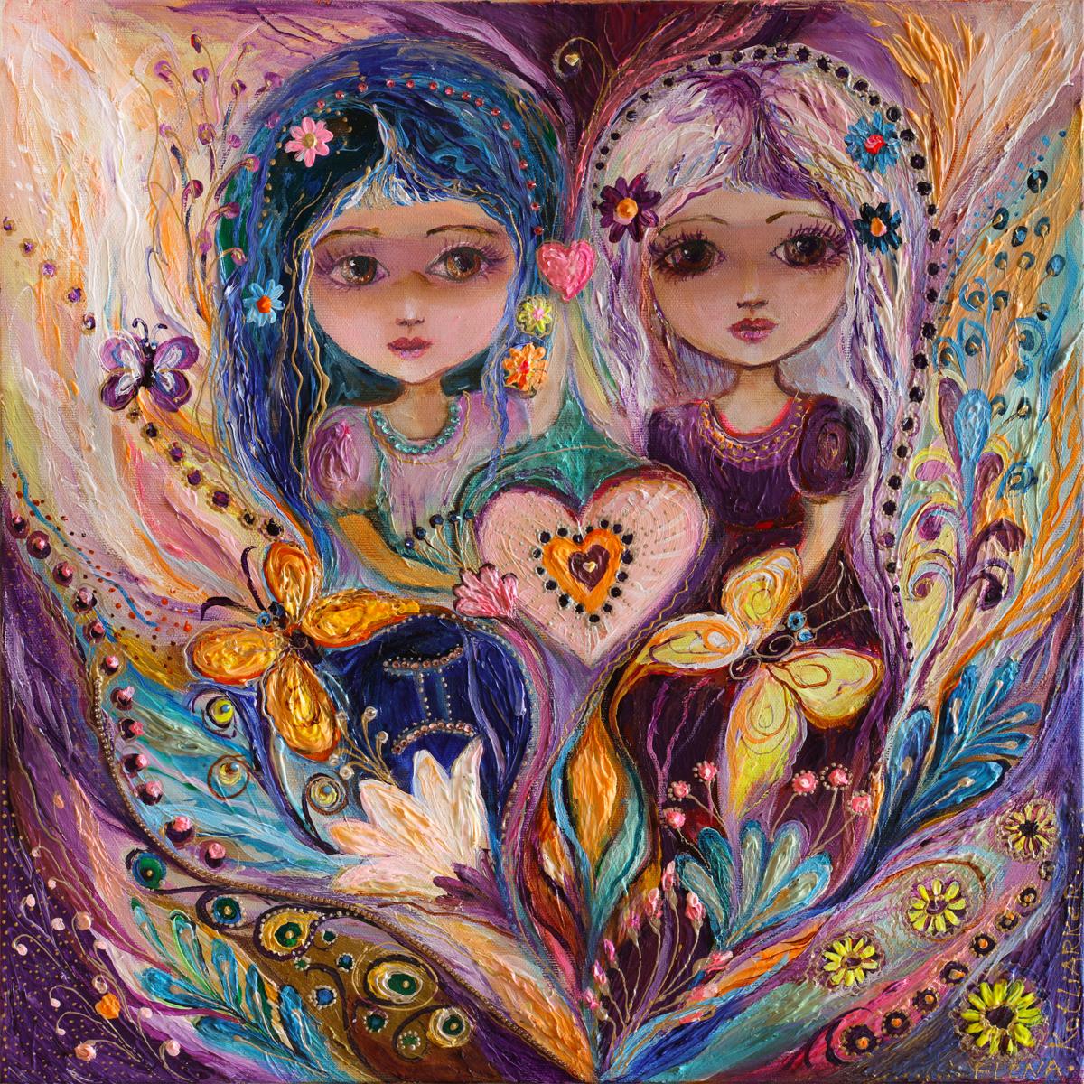 The Zodiac Fairies series: Gemini (large view)