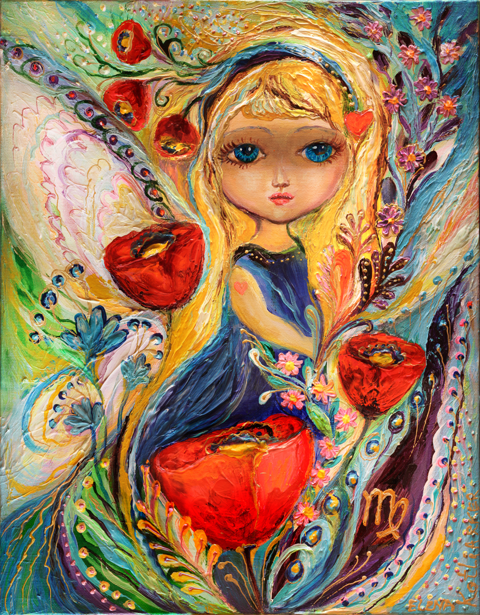 The Fairies of Zodiac series - Virgo (large view)
