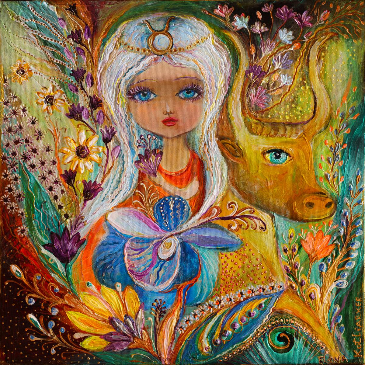 The Fairies of Zodiac series - Taurus (large view)