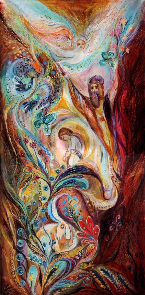 The Patriarchs series - Abraham. Superb quality canvas print (large view)
