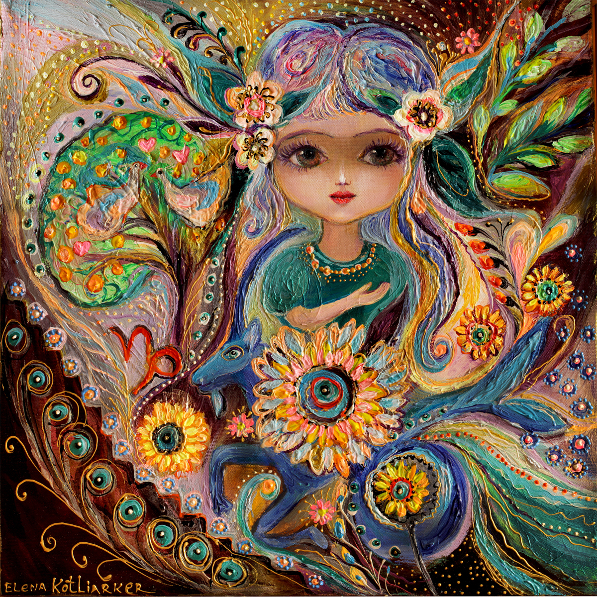 The Fairies of Zodiac series - Capricorn (large view)