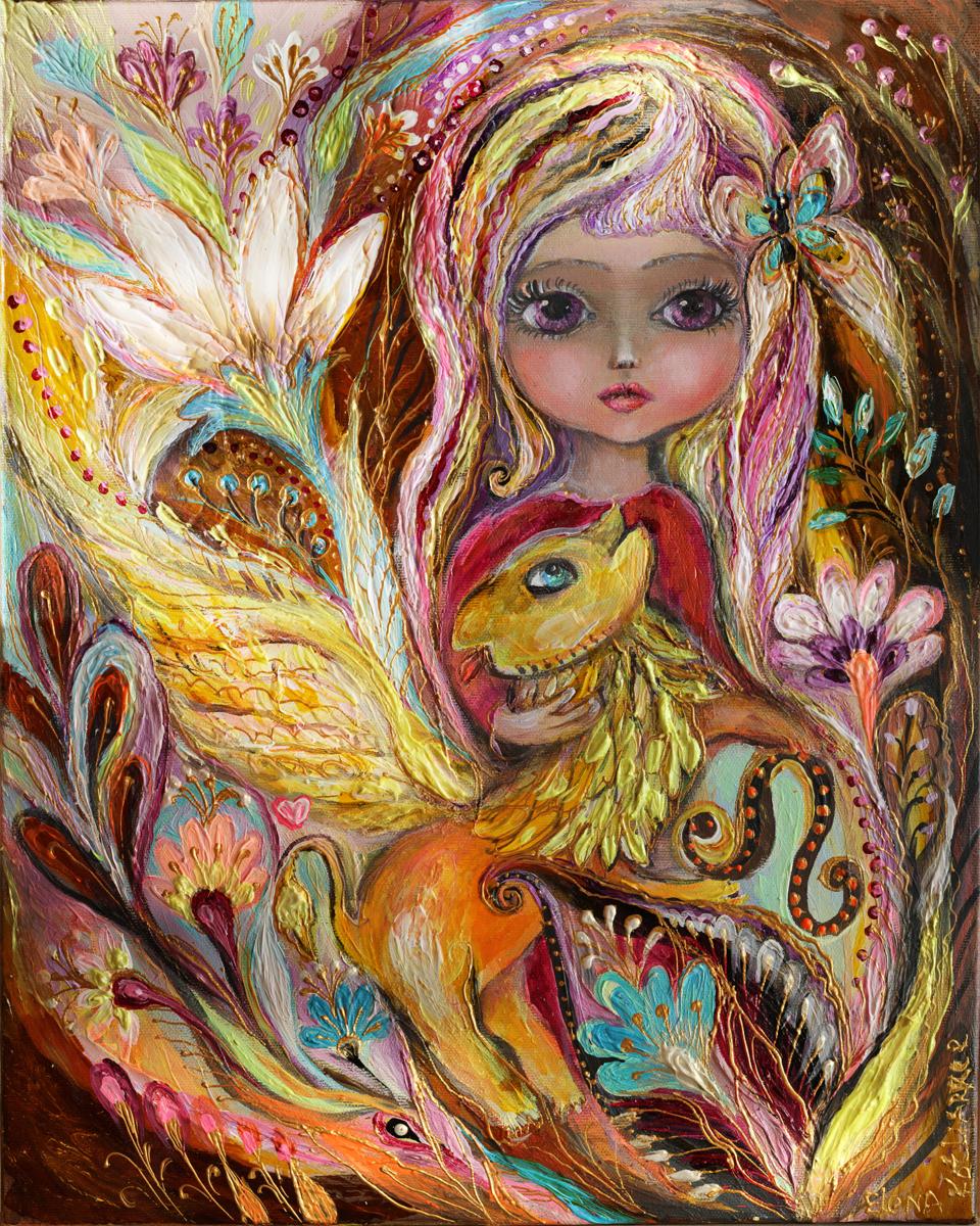 The Fairies of Zodiac series - Leo (large view)