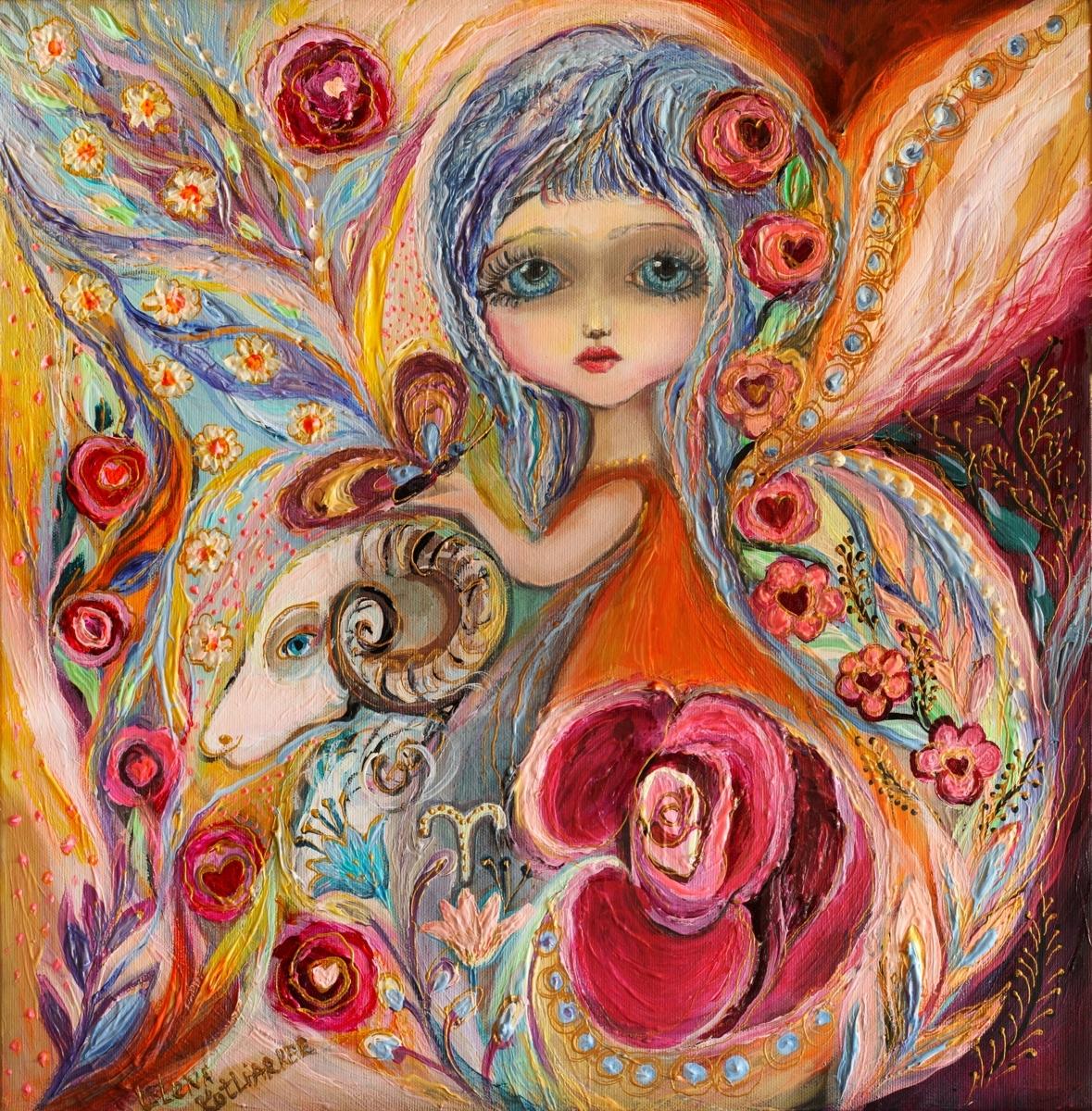 The Fairies of Zodiac series - Aries (large view)