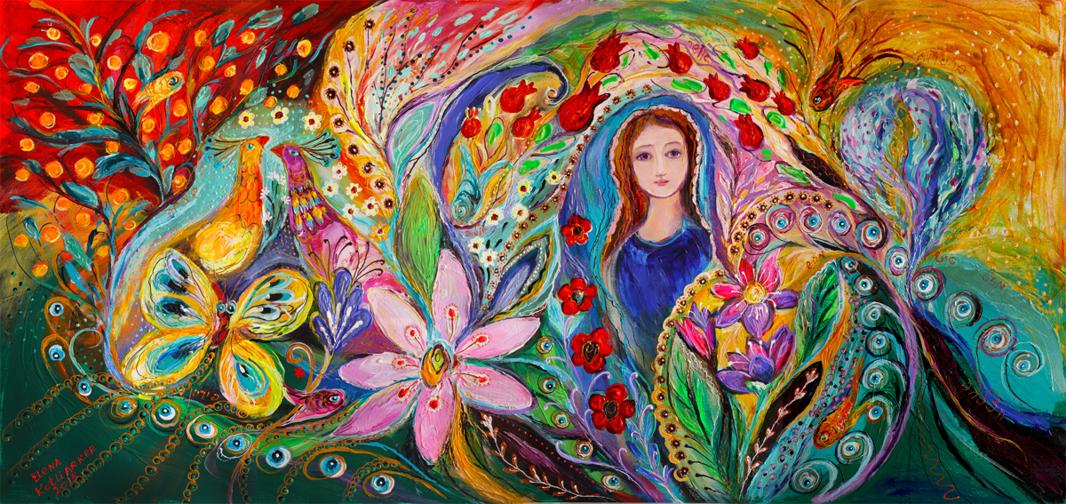 Leah and Flower of Mandragora (large view)