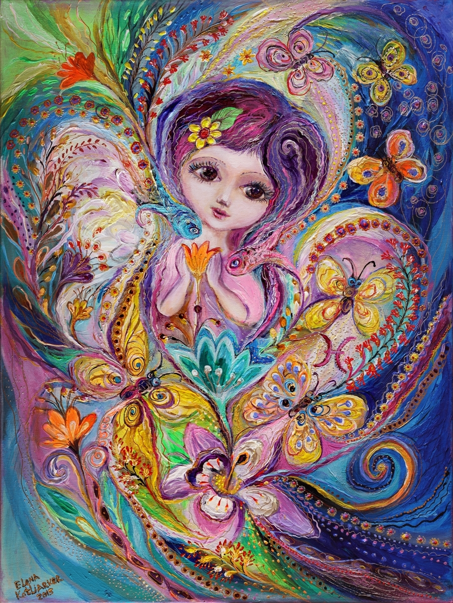 The Fairies of Zodiac series - Pisces (large view)