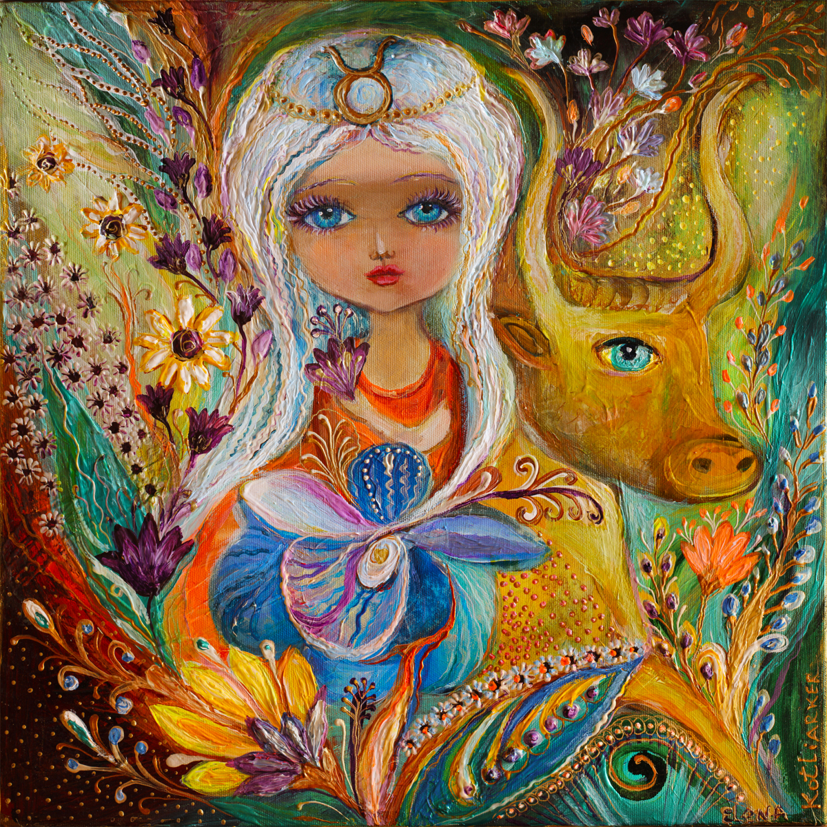 The Fairies of Zodiac series - Taurus (large view)