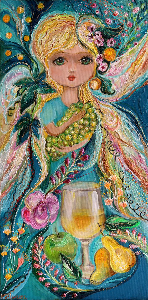 The Fairies of Wine series - Chardonnay (large view)
