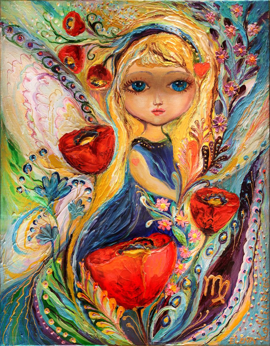 The Zodiac Fairies series - Virgo (large view)
