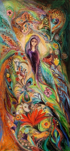 The women of Tanakh series: Story of Rachel. Superb quality XXL giclee art print
