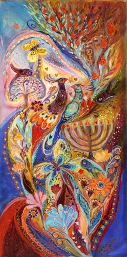 Hanukkah in Magic Garden
