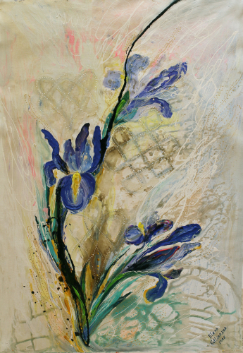 Pearl series #3. The Irises