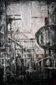 mixed media on canvas,city (thumbnail)