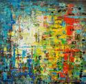 elena kozhevnikova, acrylic, abstract, mixed media, russia (thumbnail)