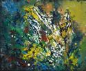 Bouquet of Fleur-de-lis and Mimosa (thumbnail)