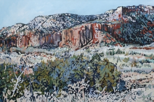Caprock Canyon I (large view)