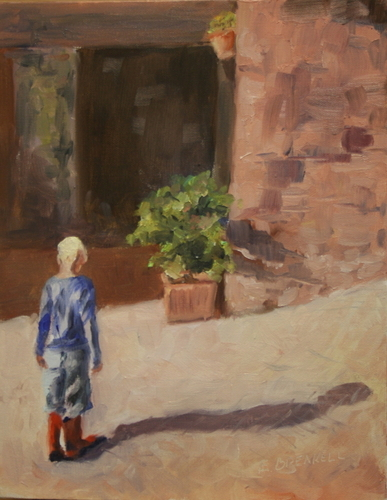 A Sunny Day In Tuscany by Elizabeth Breakell