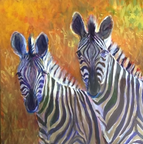 Zebras at Chazen Nature  Reserve