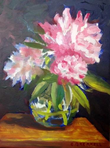 Peonies by Elizabeth Breakell