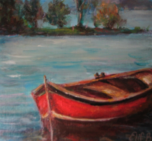 Red Rowboat #2