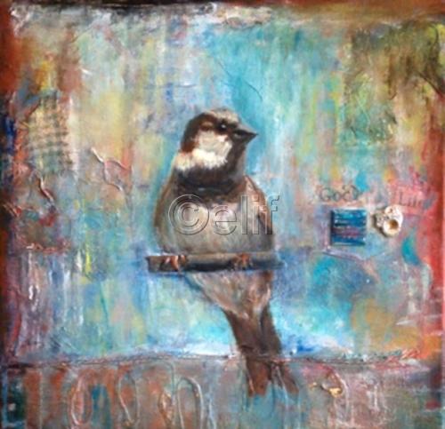 Birdie in Blue
