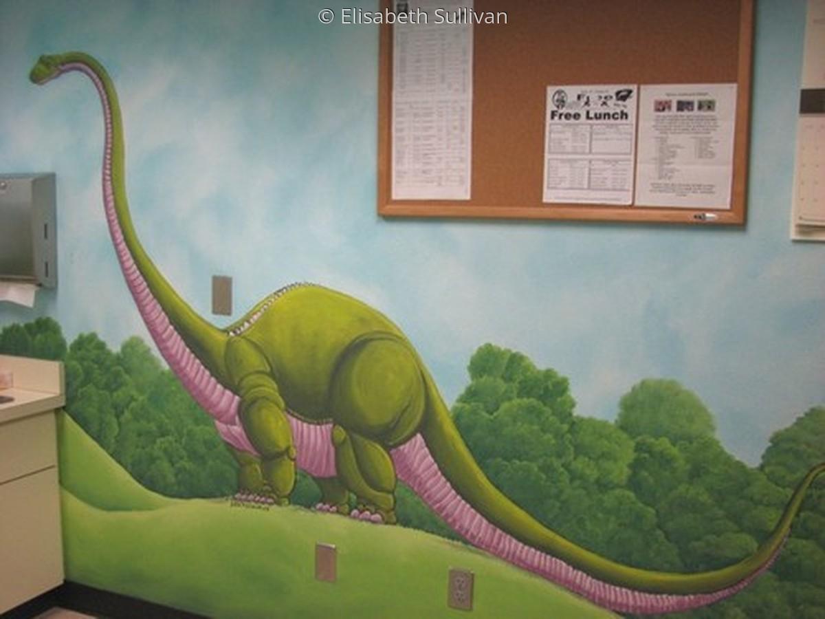 Dinosaur Mural (large view)