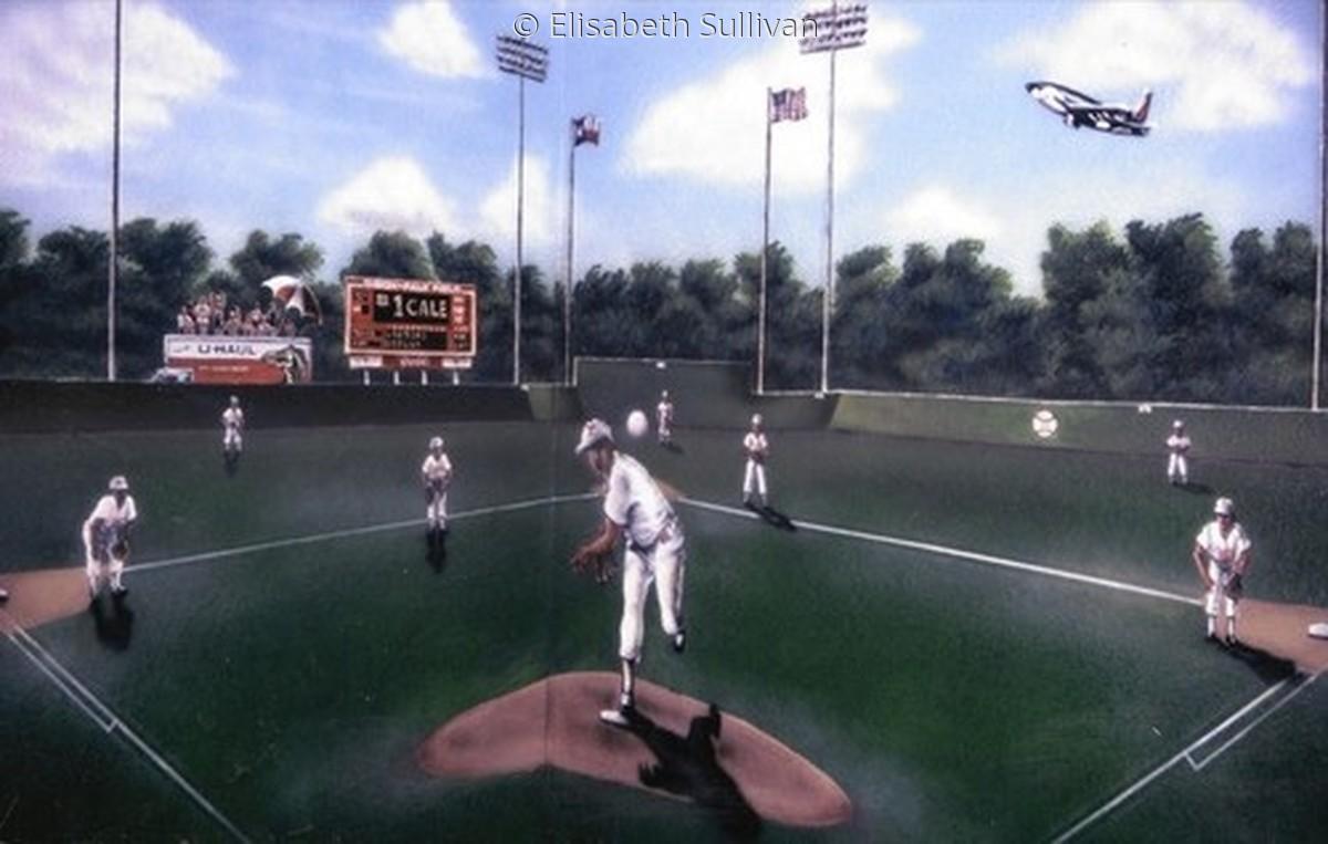 Baseball Mural (large view)