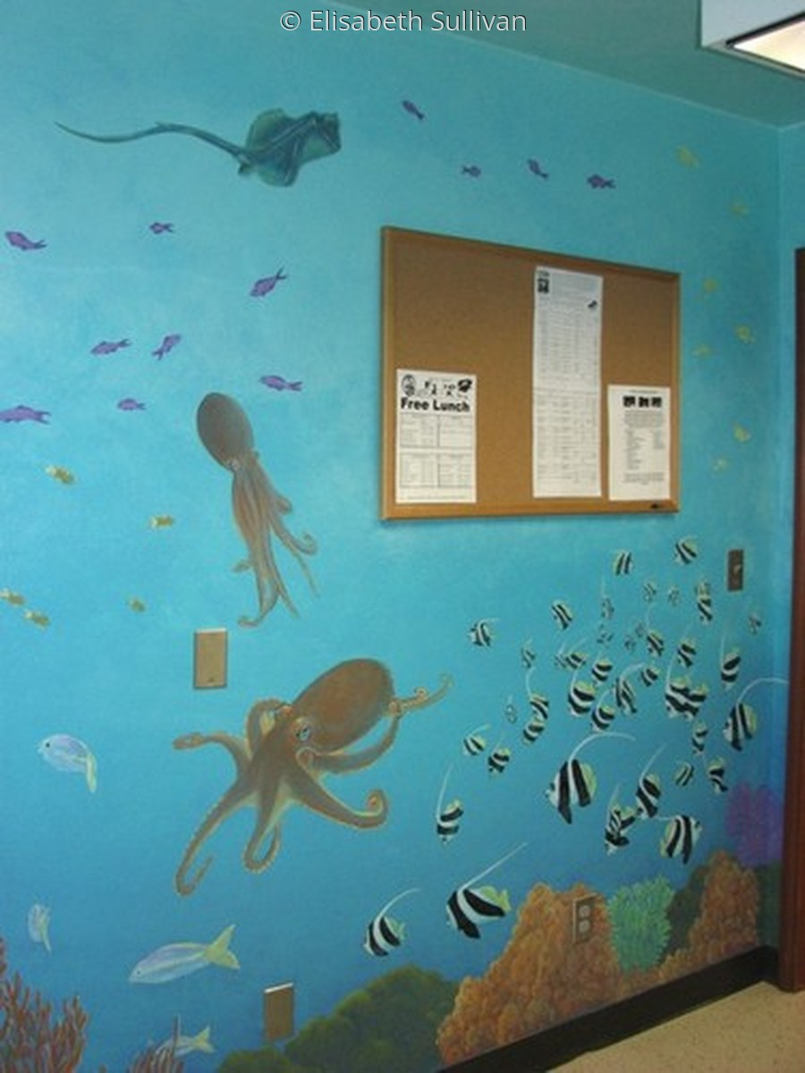Aquarium Mural (large view)