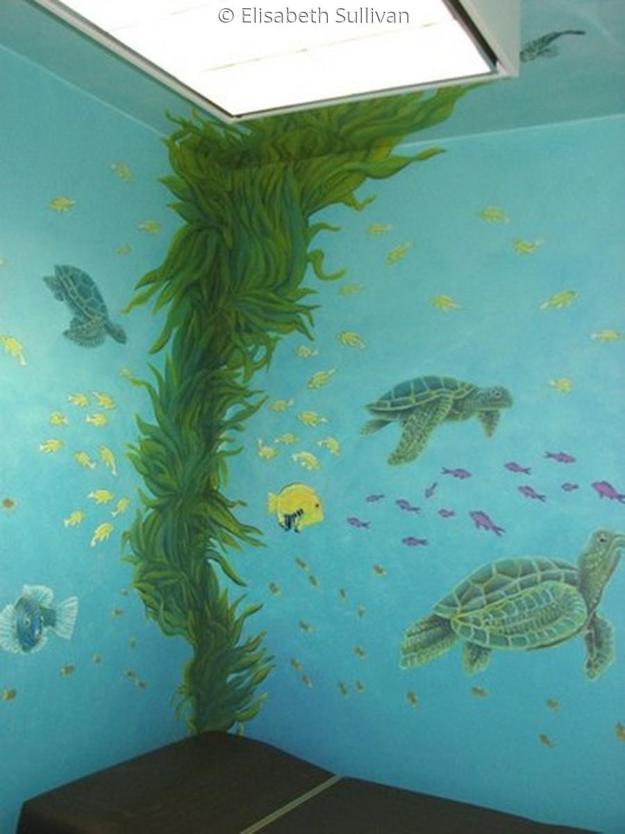 Aquarium Mural (large view)