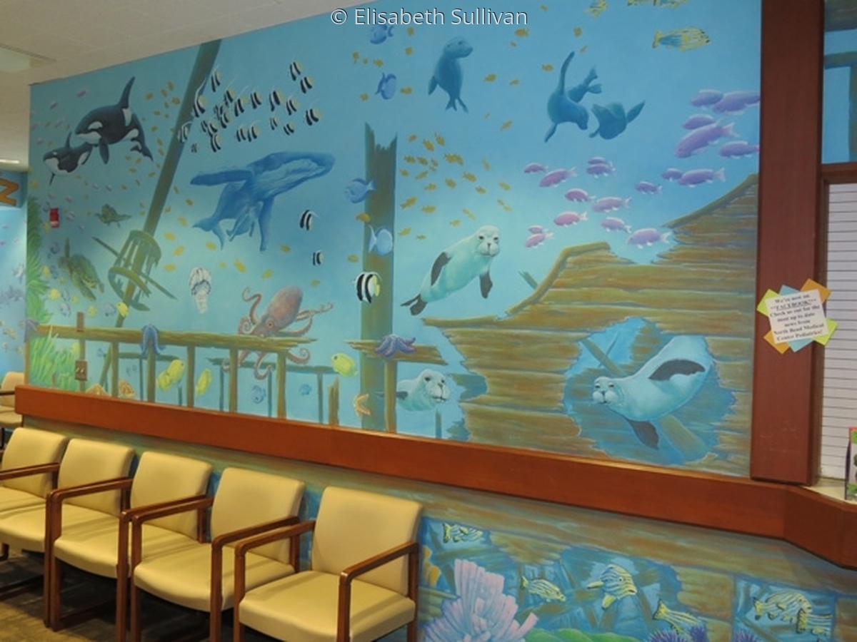 Mural for pediatric waiting room (large view)