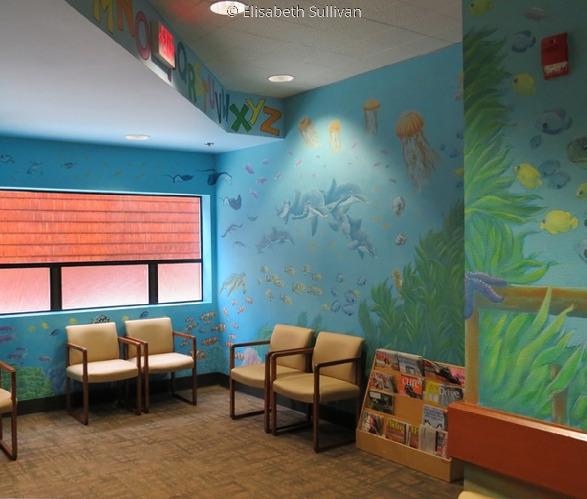 Mural for pediatric waiting room (large view)