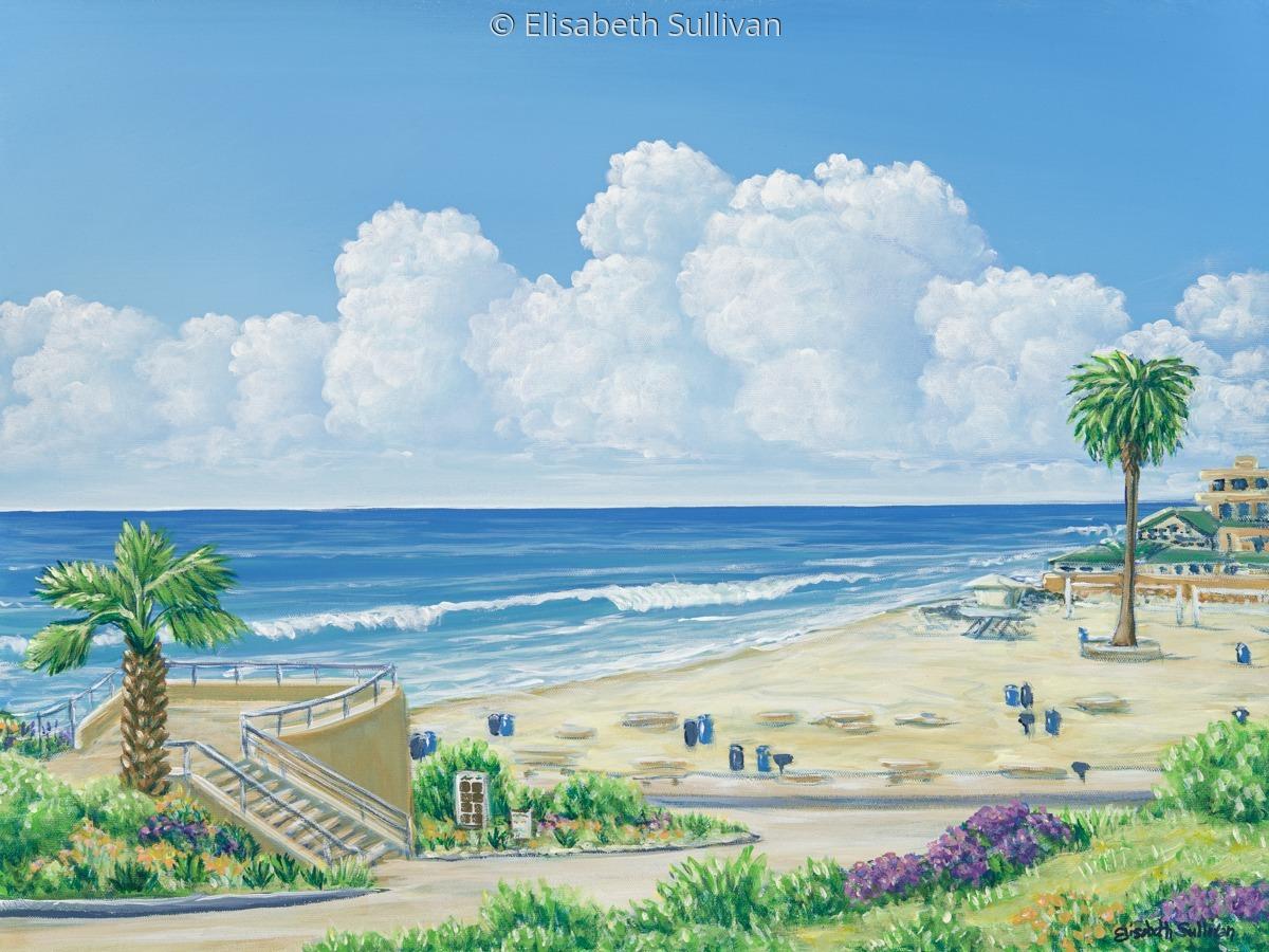 """Moonlight Beach"" (large view)"
