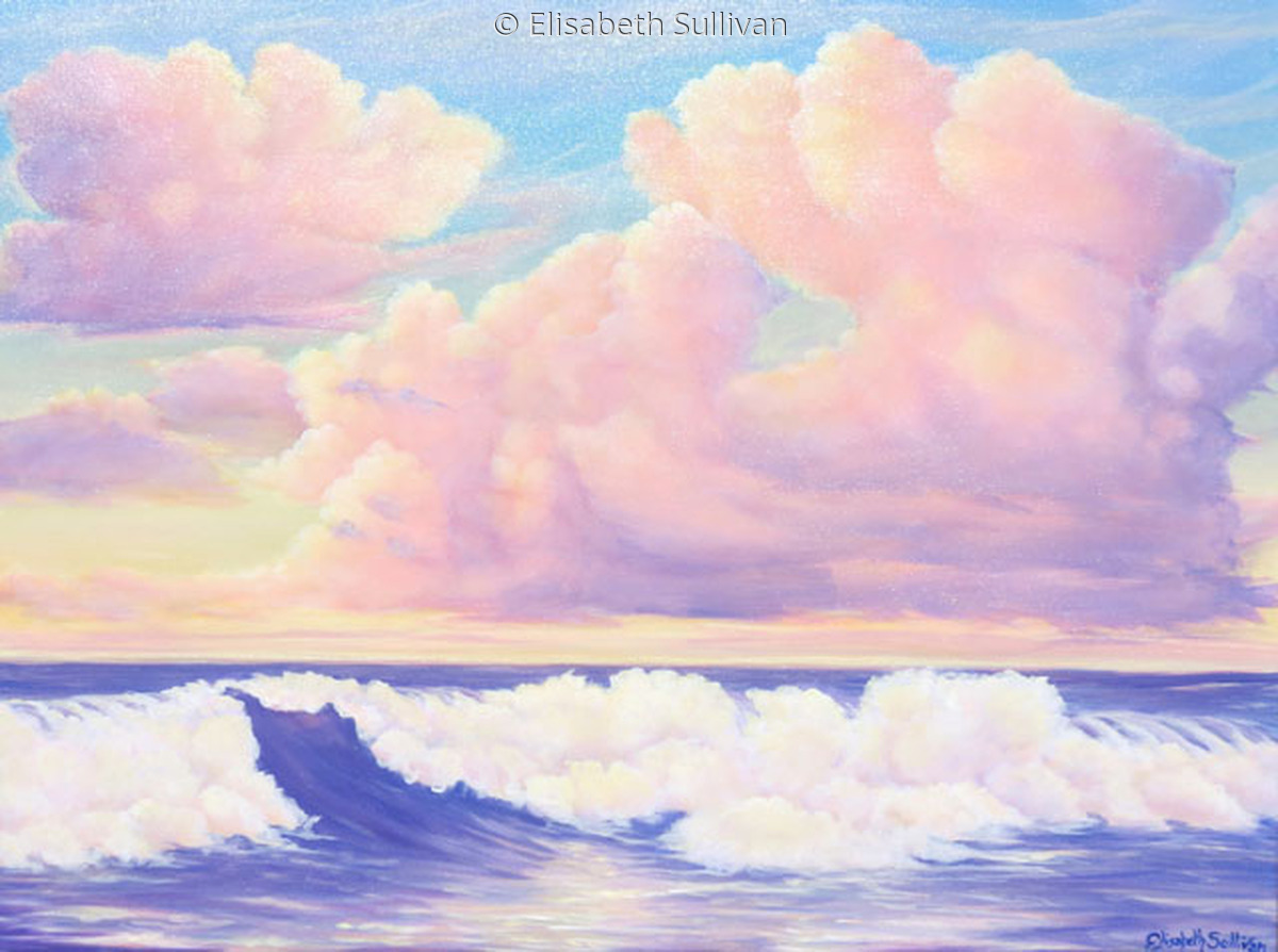 """""""Citrus Sky and High Tide"""" (large view)"""