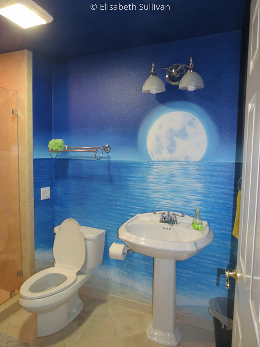 Bathroom Mural (large view)