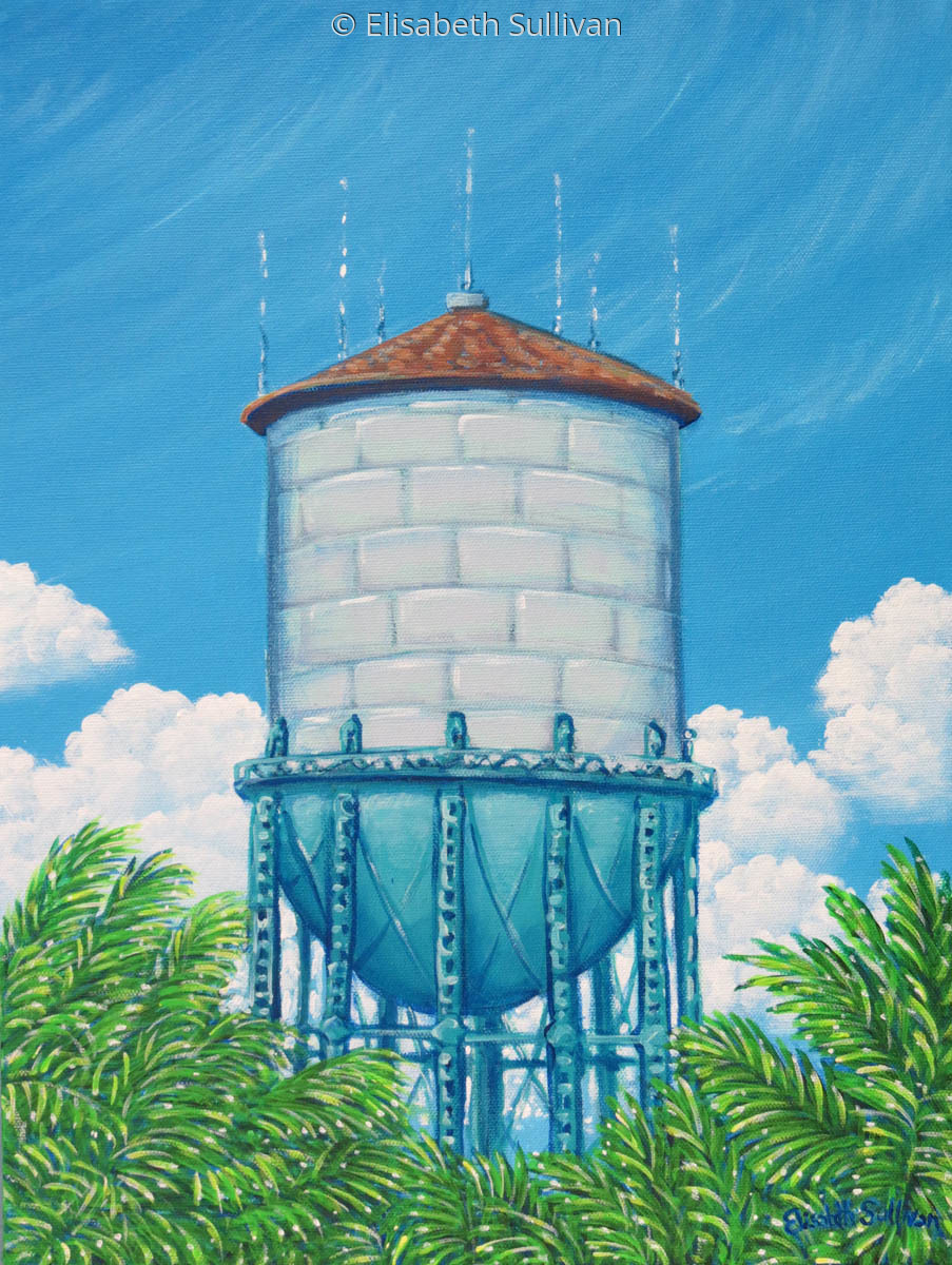 North Park Water Tower (large view)