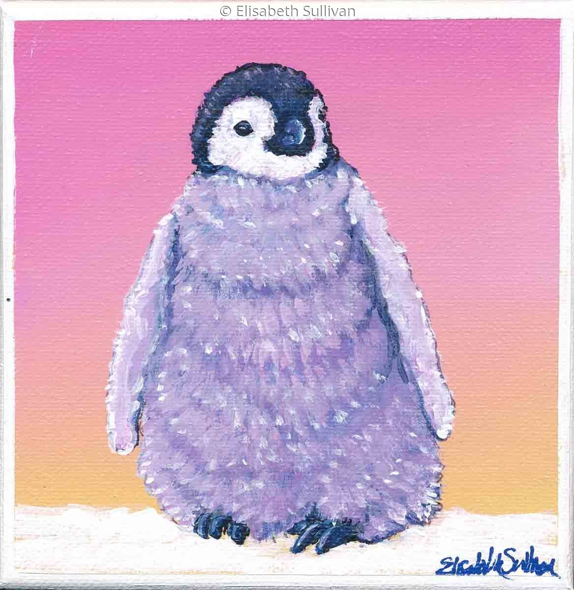 Emperor Penguin Chick (large view)