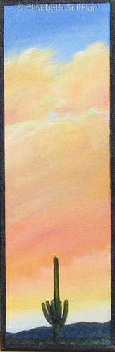 """Peach Sky Glow"" (large view)"