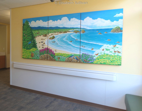 Bay Area Hospital Artwork for Hallway (large view)