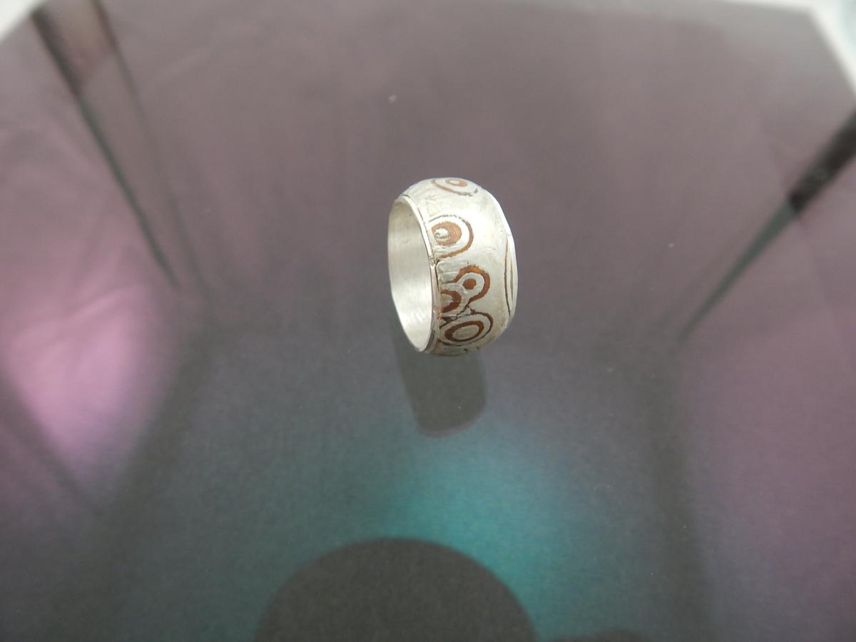 Mokume Gane ring (large view)