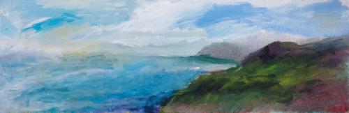 Sea, Sky, Land Converge (large view)