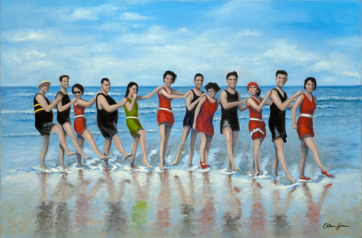 Beach Walkers P 1806