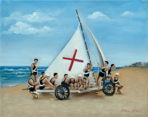 Beach Sail Boat P-2603